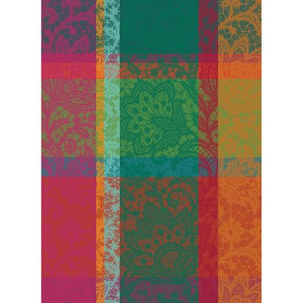 """Mille Dentelles Floralies 22""""x30"""" Kitchen Towel, 100% Cotton picture"""