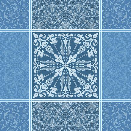 """Cassandre Saphir Napkin 21""""x21"""", 100% Cotton picture"""