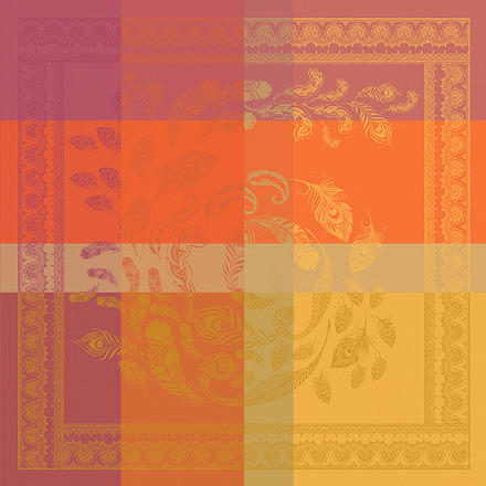 "Shambala Epices 22""x22"" Napkin, 100% Cotton - Set of 4 picture"