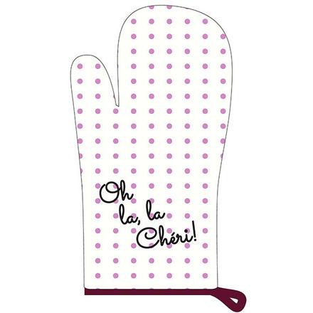 Oh La la Cherie Pourpre Oven Mit picture