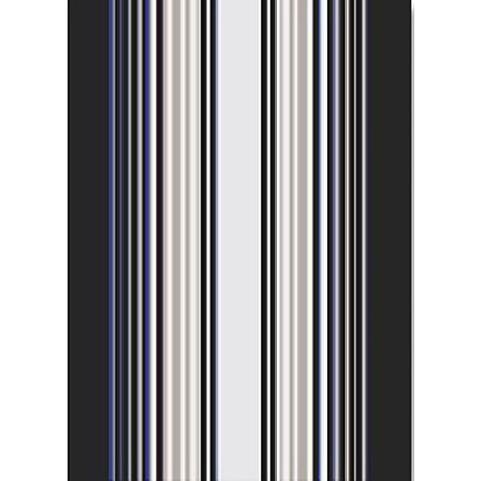 """Paseo Anthracite 20""""x28"""" Kitchen Towel, 100% Linen picture"""