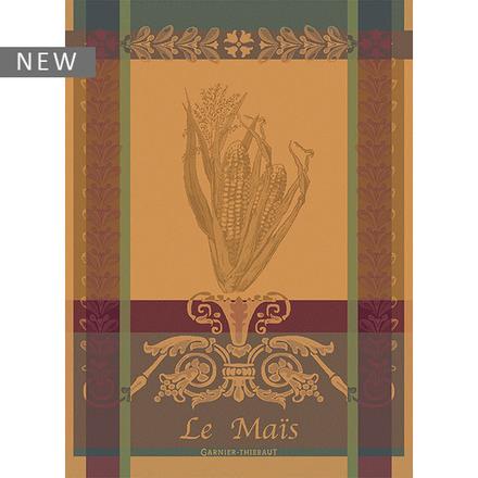 """Le Mais Yellow Kitchen Towel 22""""x30"""", 100% Cotton picture"""