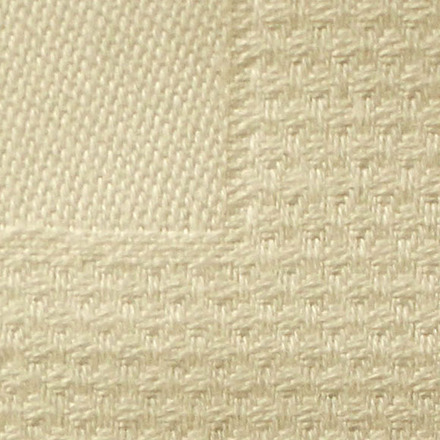 Pack of 12 Partridge Eye Border Ivory Napkin picture