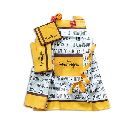 Les Fromages Moutarde 3pcs Kitchen Set picture