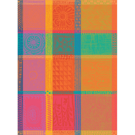 """Mille Wax Tor Creole Kitchen Towel 22""""x30"""", 100% Cotton picture"""