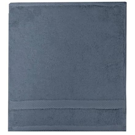 """Elea Bleu Ardoise Face Towel 12""""x12"""", 100% Cotton picture"""