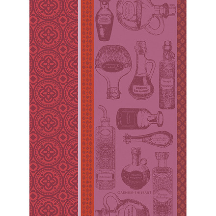 """Vinaigre Balsamique Rouge 22""""x30"""" Kitchen Towel, 100% Cotton picture"""
