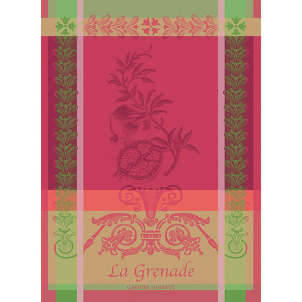 """Grenade Rose Kitchen Towel 22""""x30"""", 100% Cotton picture"""