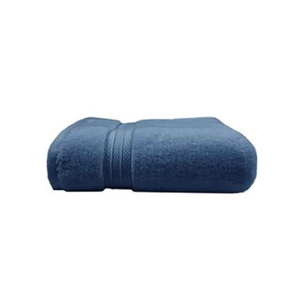 """Elea Bleu Ardoise Hand Towel 20""""x39"""", 100% Cotton picture"""