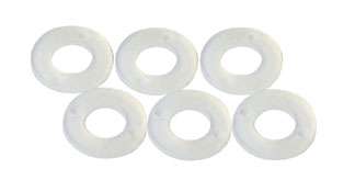 "Guide Spacers 1/32"" Nylon - 6 Pcs picture"