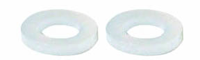 "1/8"" Nylon Spacers - 3/64"" Wide - 8 Pcs picture"