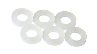 """Guide Spacers 1/16"""" Nylon - 6 Pcs picture"""
