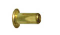 "1/16"" Brass Collars/Spacers 13/64"" Wide - 12 Pcs picture"