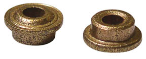 """3/32"""" Oilites w/Speed Ring For 3/16"""" Hole - 1 Pair picture"""
