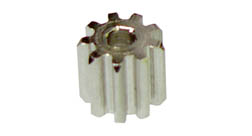 Brass Motor Pinion - 48 Pitch x 10 Tooth - 6 Pcs picture
