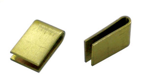 Guide Clips - Pre-Bent Brass - 1 Pair picture