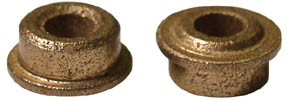 """1/8"""" Oilites w/Speed Ring For 1/4"""" Hole - 6 Pair picture"""