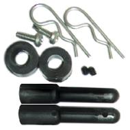 "1.5"" (38mm) Nylon Body Post Kit - Pair picture"