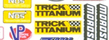 """Drag Logos, 6"""" x 8"""" Decal picture"""
