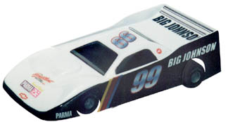 1/24 Dirt Outlaw Oval - .010 Clear Body picture