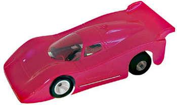 "1/32 Home Set Body - Clear .015"" Jaguar GTP picture"