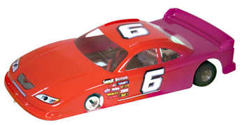 1/24 '08 COT Stock Car - .010 Clear Body picture