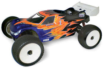 1/8 X-citer TRUGGY - Clear Body picture