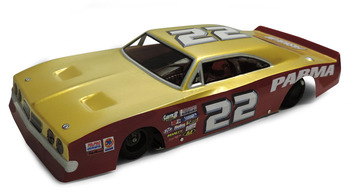 1/24 '69 500 RETRO Stock Car - .015 Clear Body picture