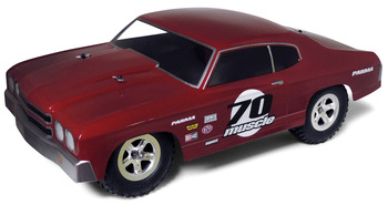 """70 MUSCLE DRAG SC .040"""" Clear Body picture"""