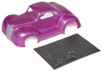 "1/32 LEGENDS '37 Coupe - Painted & Trimmed .010"" Body picture"