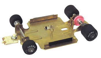 """1/24 FCR 4"""" WB Car w/Out Body (No Motor) picture"""
