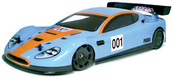 "1/10 DB-9 World GT - .030"" Clear Body w/Wing picture"