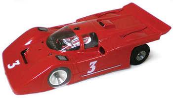 """1/32 Ferrari 512M Coupe - Clear .010"""" Body picture"""