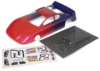 1/24 Charger Stock Car - Painted & Trimmed .010 Body picture