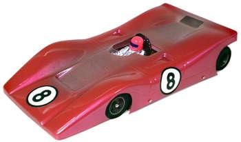 1/24 M.A.C. Ferrari 312P RETRO - .010 Clear Body picture