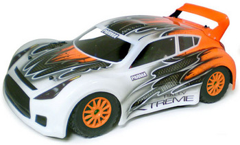 "Rally Xtreme .040"" Clear Body w/Wing picture"