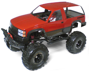 "1/10 Scaler SUV - .040"" Clear Body picture"