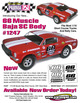 """66 MUSCLE SC BAJA .040"""" Clear Body additional picture 2"""