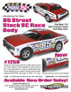 "85 Street Stock SC .040"" Clear Body additional picture 2"