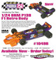 1/24 F1 BRM P138 RETRO - .010 Clear Body additional picture 2