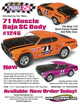 "71 MUSCLE SC BAJA .040"" Clear Body additional picture 3"