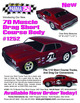 "70 MUSCLE DRAG SC .040"" Clear Body additional picture 3"