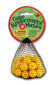 14mm Yellow Chinese Checker Game Replacement Net (30 pcs) 4-pack