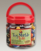 MEGA MARBLES LARGE TOY MARBLE TOTE