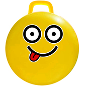 """Hop Hop Ball - Yellow 15-inch """"Silly"""""""