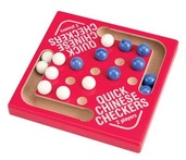 Red Wood Quick Chinese Checkers