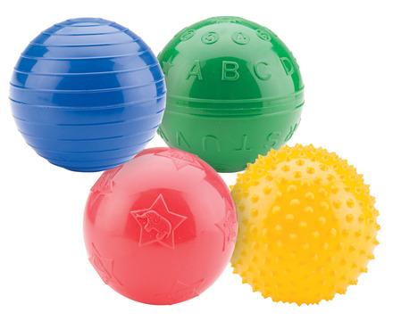 "PVC 4"" Playtime Ball Set - 4 Balls Total picture"