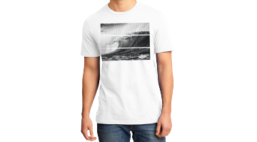 Tribal Wave T-White-L picture