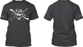 Pirate Tee - Charcoal - XL