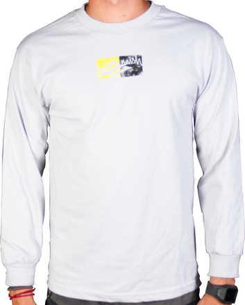 Boxes Long T-shirt Gray - M picture